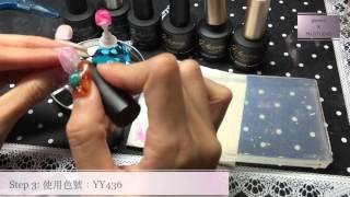 【Miustudio 美甲頻道】天然石_第一堂_gel nail nailsart nailart