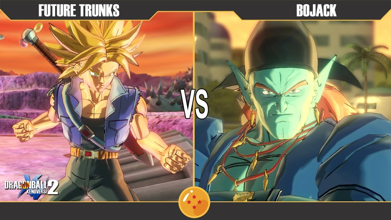 Dragonball Xenoverse 2 : Future Trunks vs Bojack - YouTube