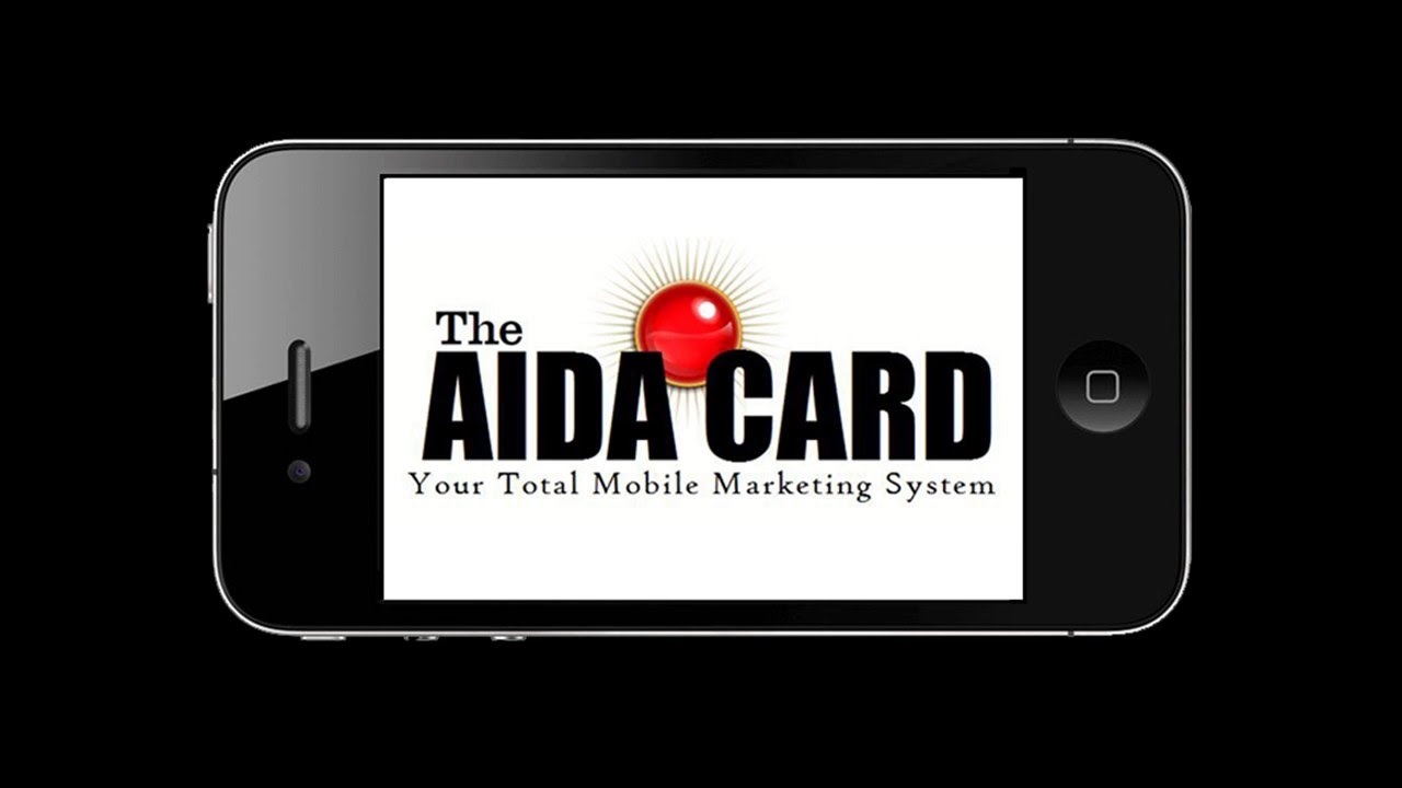 The AIDA Card - New Business Card Format Offers Passive Income - YouTube