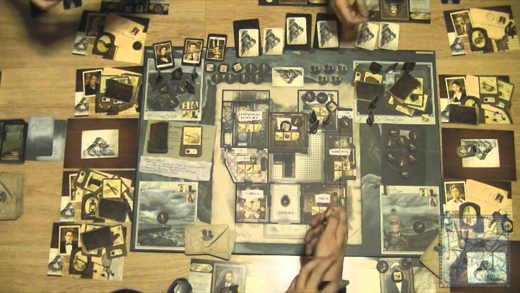 10 negritos modo c mplice juego de mesa gameplay for Viciados de mesa