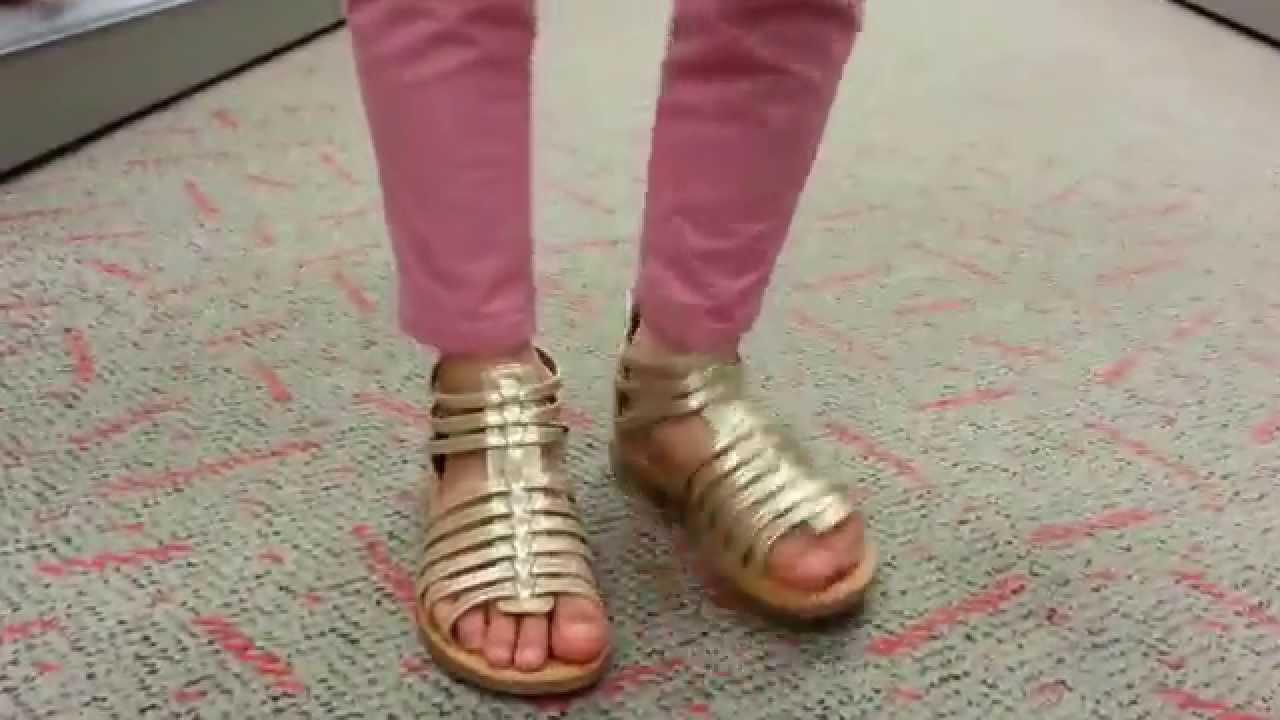 836391990b71 Cherokee® Jennifer Gold Sandals - YouTube