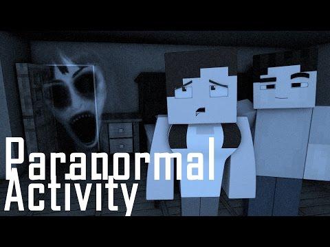 Minecraft Parody - PARANORMAL ACTIVITY! - (Minecraft Animation)