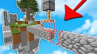 THIS MINECRAFT TRAP is AMAZING... (Minecraft Skywars)