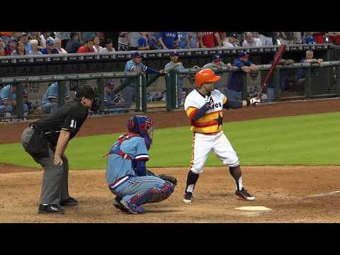 José Altuve in action - At Minute Maid Park - In Houston Texas 2015