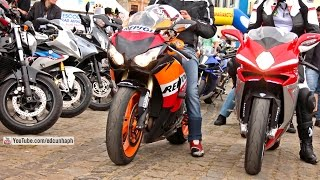 Paranagua Motos 2014 - Superbikes Show off, revs & Backfire part 2 - Bikers Special
