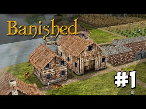 Banished Modded #1 - BRAND NEW WORLD