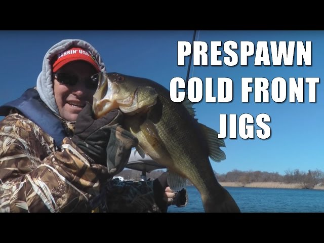 Prespawn Cold Front Jig Tips