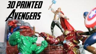 3D Printed Avengers Diorama