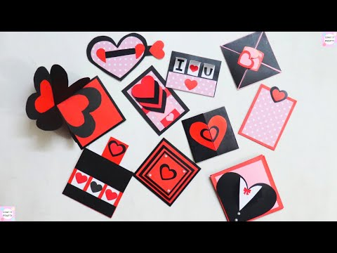 10 Card Ideas for Explosion Box / How to make Explosion box Pages/ How to make Scrapbook Pages