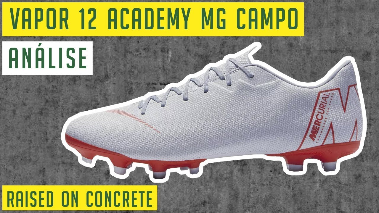 411fdf14c8d CHUTEIRA NIKE MERCURIAL VAPOR 12 ACADEMY MG CAMPO - RAISED ON ...