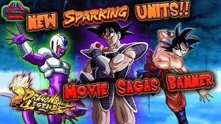 SPARKING Turles + Coora + OHSB Goku - Full Banner Review + 7K Crystal Summons - Dragon Ball Legends