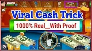 live !8 ball pool cash adding free 2018 unlimated cash and  895xp hacked 100%
