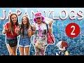 HARAJUKU + ROBOT RESTAURANT!  Japan Vlogs Episode 2