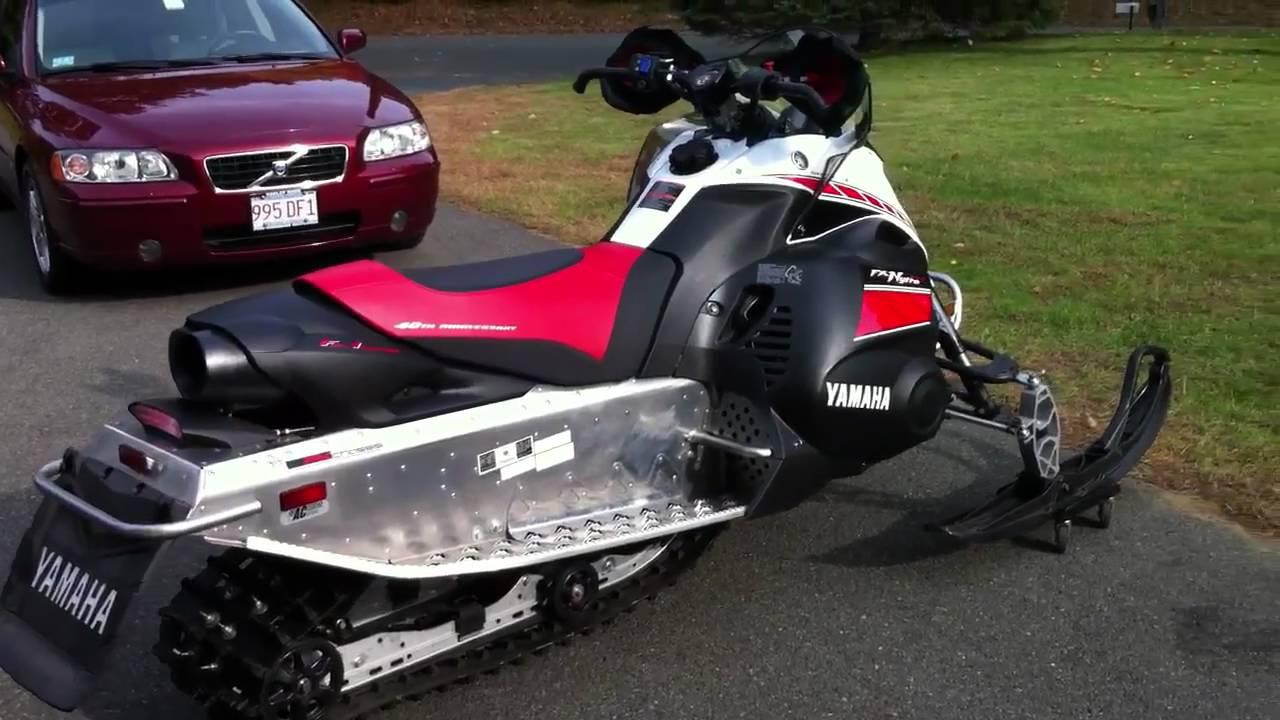 Stock Yamaha Fx Nytro Rtx Exhaust