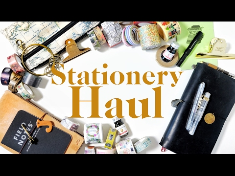 Hong Kong & Taiwan Stationery Haul | Job's Journal