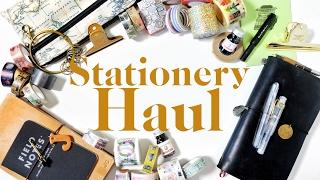 Hong Kong & Taiwan Stationery Haul | Job's Journal