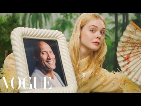 Elle Fanning's Fan Fantasy | Vogue