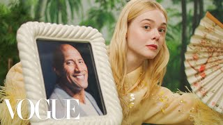 To mark the actress's first-ever Vogue cover, we reimagined the rising star in a multitude of scenarios, from Elle Fanning fanning a rock to Elle Fanning fanning ...
