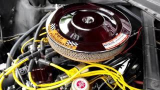Moteur Mustang 1965 V8 289ci carbu 600 Edelbrock Performer