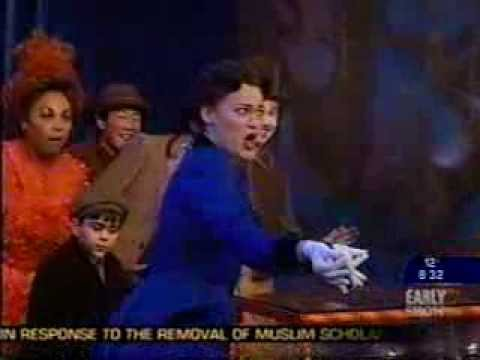 Broadway cast of Mary Poppins performs