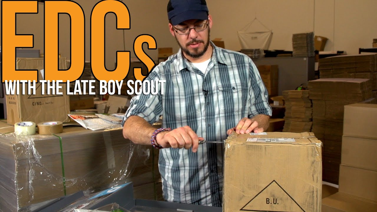 Why carry a pocket knife? | EDCs with The Late Boy Scout