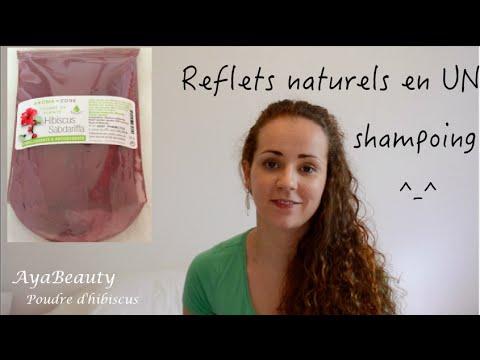 reflets naturels acajoucuivr en un shampoing - Shampoing Colorant Acajou
