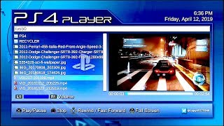 PS4 PLAYER MEDIA PLAYER MP4 MOV