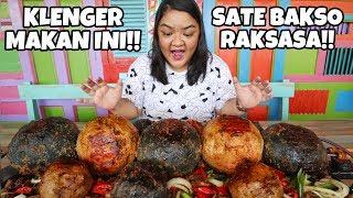 HARGA JUTAAN RUPIAH!! SATE BAKSO RAKSASA DI BAKSO KLENGER #KulinerYogyakarta