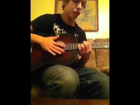 Iris guitar cover b d d d d d tuning