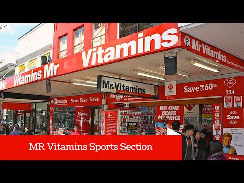 Mr Vitamins - The Best Sports Nutrition Supplements Store In Australia