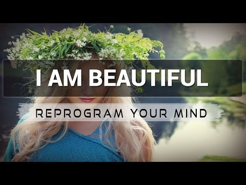 I am Beautiful affirmations mp3 music audio - Law of attraction - Hypnosis - Subliminal