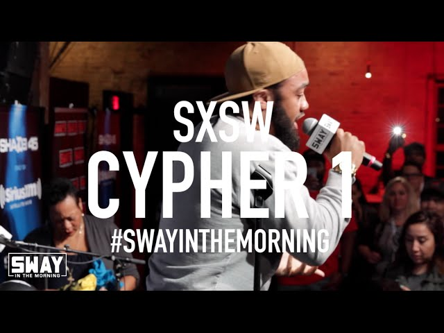 Sway SXSW Takeover 2016: Local Hyenas Freestyle in Cypher PT. 1
