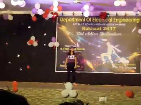 IET MJP Rohilkhand University, Bareilly Farewell Party 2017 Fabulous Performance