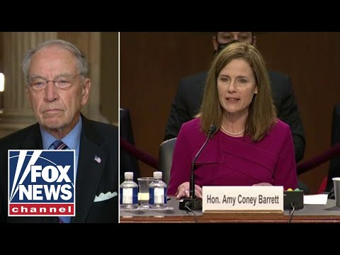 Chuck Grassley says Dems 'lied' to Americans during Amy Coney Barrett's hearing