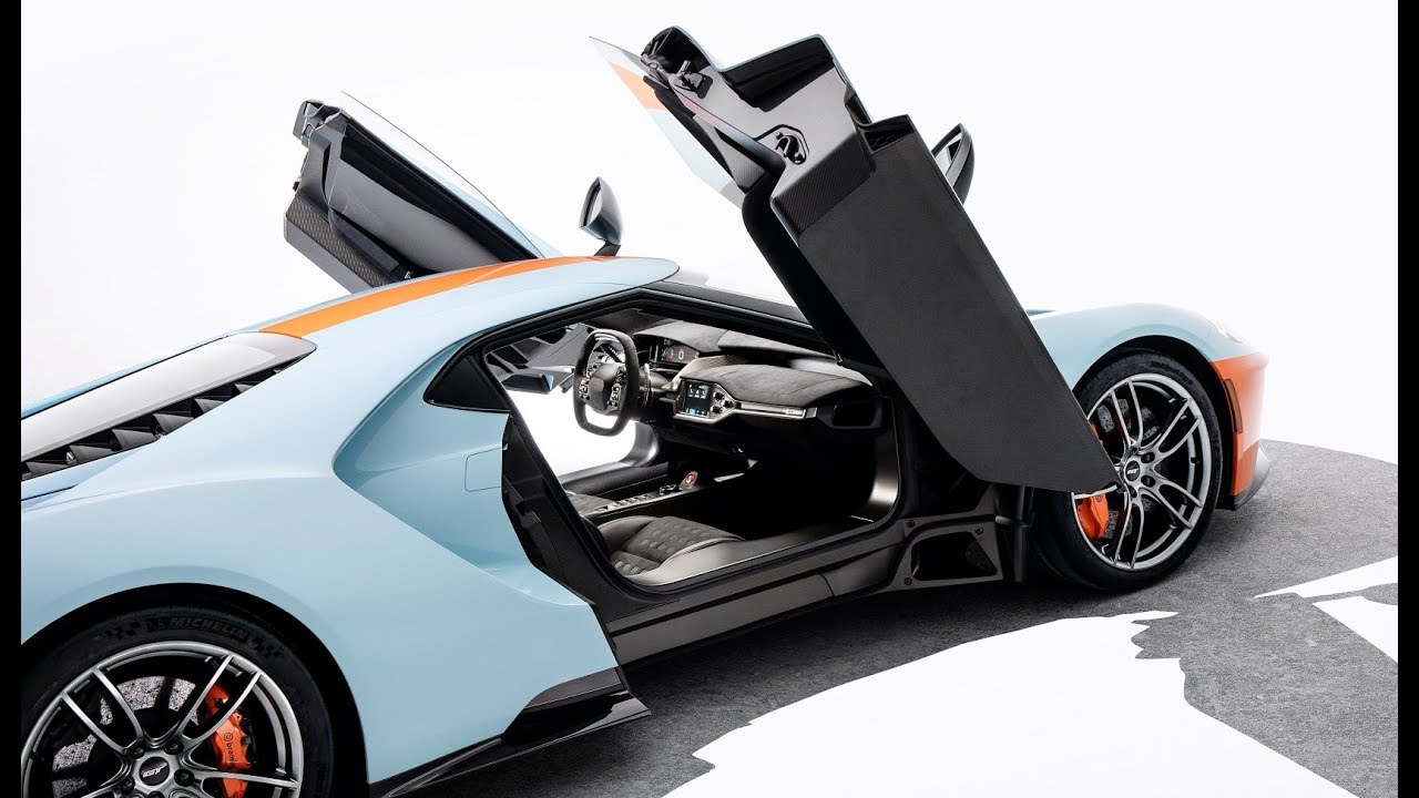 Ford Gt Heritage Edition First Look