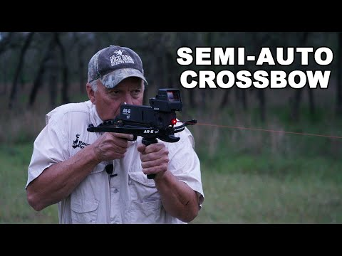 Crossbow PISTOL? World's Tiniest Crossbow