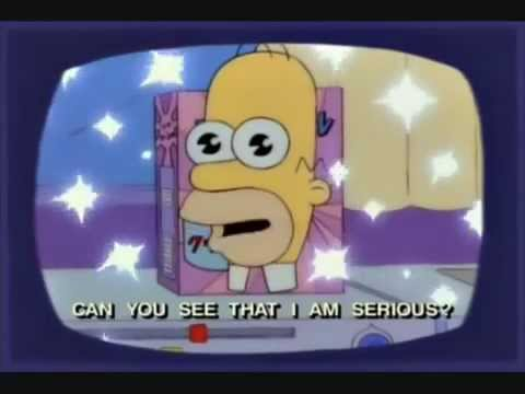 The Simpsons Mr Sparkle Commercial Youtube