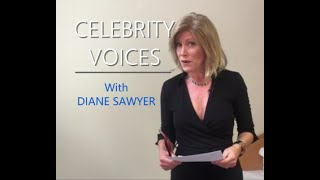 "Parody ""CELEBRITY VOICES with Diane Sawyer"" - Funny Impressions from the best in the biz!!"