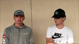 Laramie's Titus Wookey and Andrew Stannard Preview State Golf