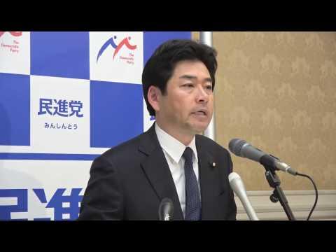 61206 山井国対委員長会見 2016年12月6日