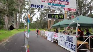 Ultraman 2011: Day 1, 10 km swim + 90 mile bike (145 km)