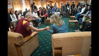 Youth Leaders From Conflict Zone In Dialogue With His Holiness the Dalai Lama
