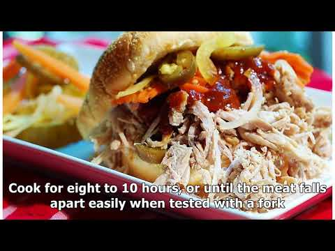 How To Cook Carolina Pulled Pork With Liquid Smoke In A Slow Cooker