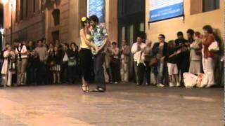 Christophe Apprill et Cécile Meunié - Marin Marais - Festival  Rue du tango 2011 - Marseille