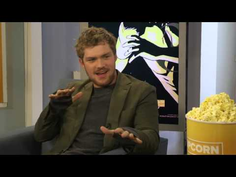 'Iron Fist' superhero Finn Jones sings 'I need a hero'