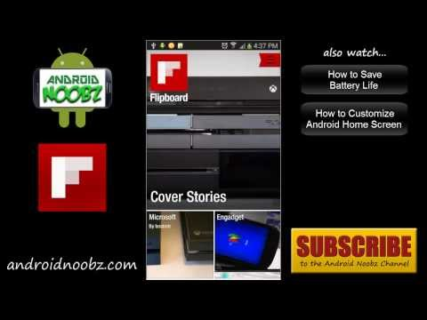How to Use Flipboard on Android - Android Noobz