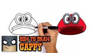 How to Draw Cappy | Super Mario Odyssey