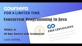Java Programming Principles Of Software Design Week 1 4 All Quiz With Answers Youtube