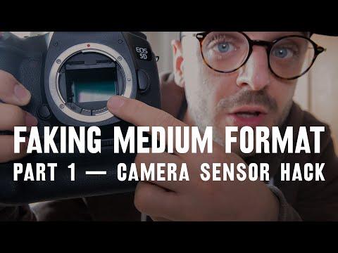 Camera sensor HACK — part 1: FAKING medium format
