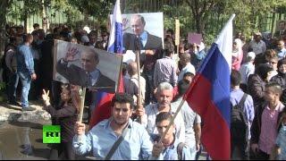 Очевидец обстрела посольства РФ в Сирии: Атака произошла во время митинга в поддержку Москвы